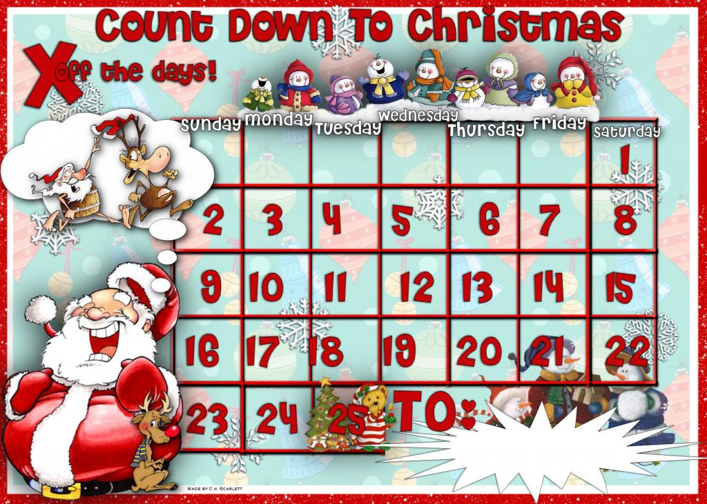 December Christmas Calendar Images & Pictures - Becuo